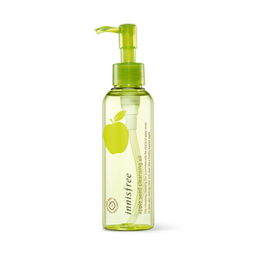 Korea Cosmetic Apple Seed Cleansing Oil 150ml Facial Cleanser Makeup Remover Deep Clean Eyes Lips Face Mild Clean Moisturizing tissue papers makeup cleansing oil absorbing face paper korea cute cartoon absorb blotting facial cleanser face tools girl boy