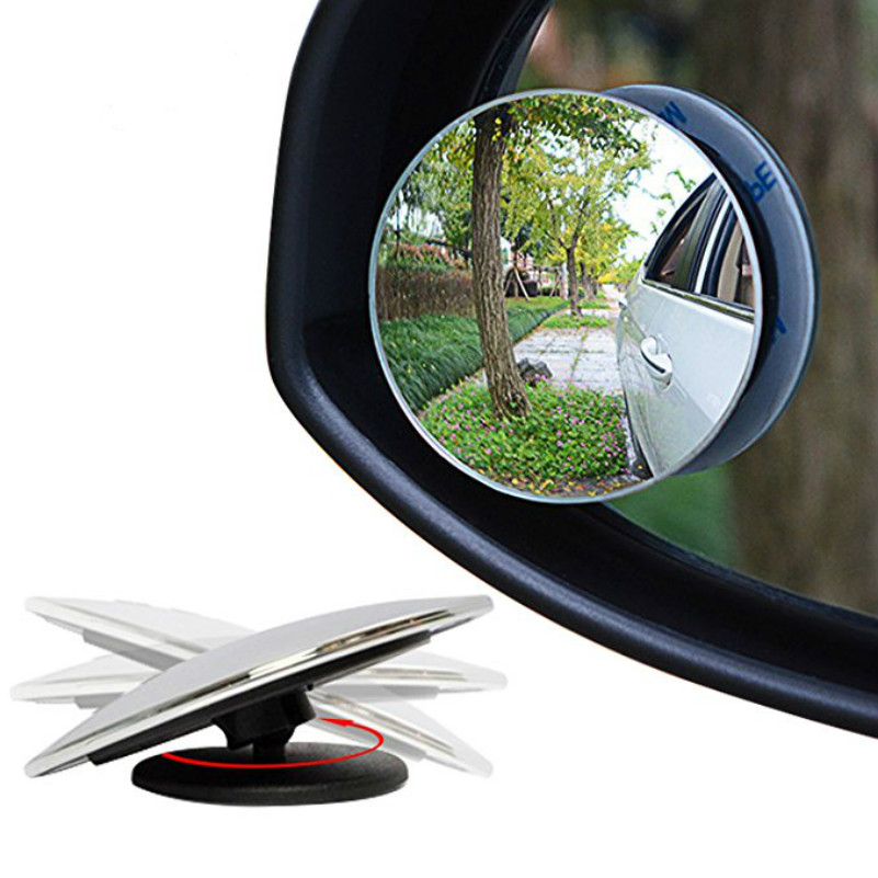 Car Styling Wide Angle Blind Spot Rear View Mirror HD For Skoda Fabia Octavia A7 A5 2 Rapid Superb Yeti Felicia Roomster Kodiaq