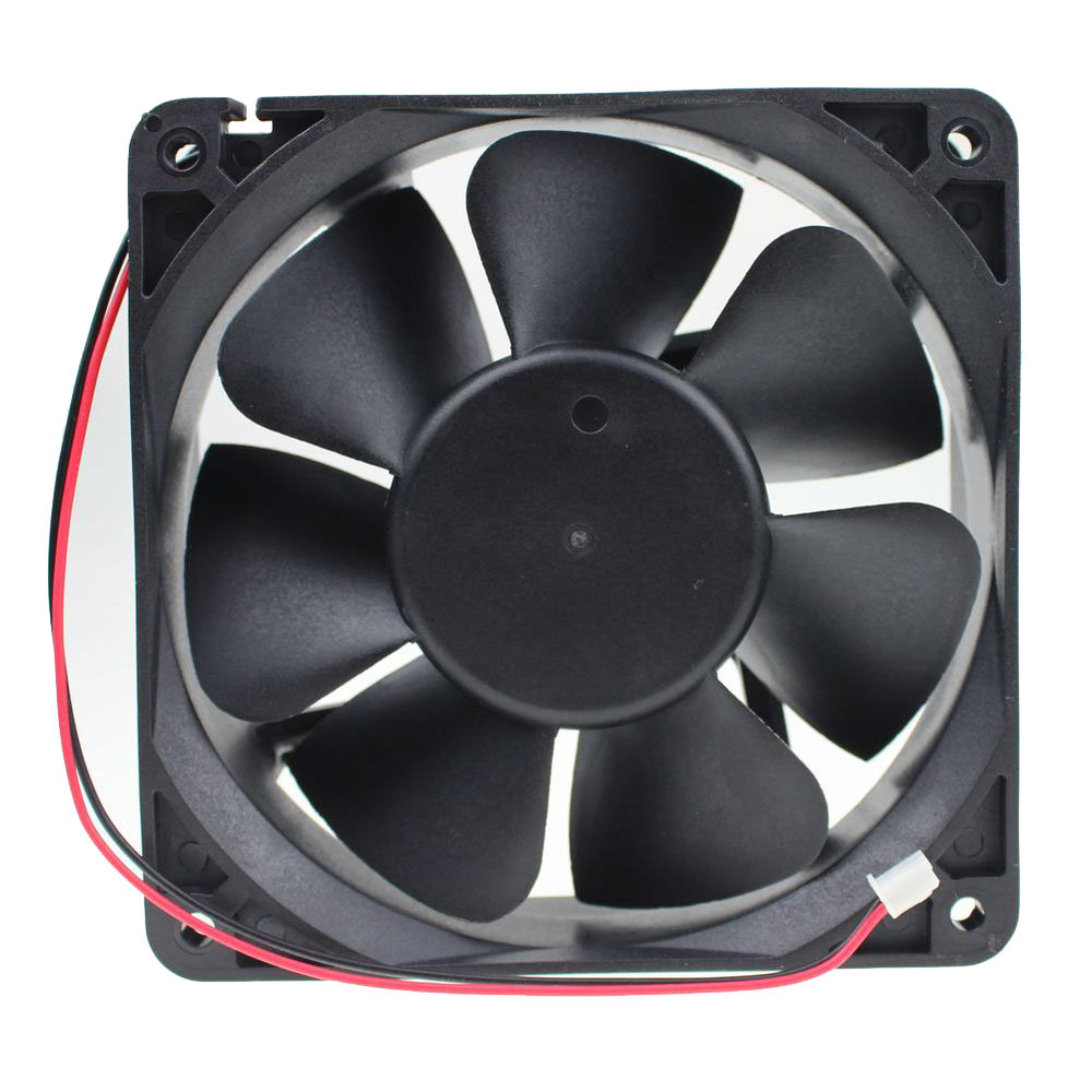 2 pcs Gdstime 2 Wire 2 Pin Connector 120x38mm 12V DC Brushless Cooling Fan 120mm 12038 Silent PC Fan 120mm x 38mm free shipping emacro arx fs1250 a1042a dc 12v 0 19a 2 wire 2 pin connector 70mm server round cooling fan