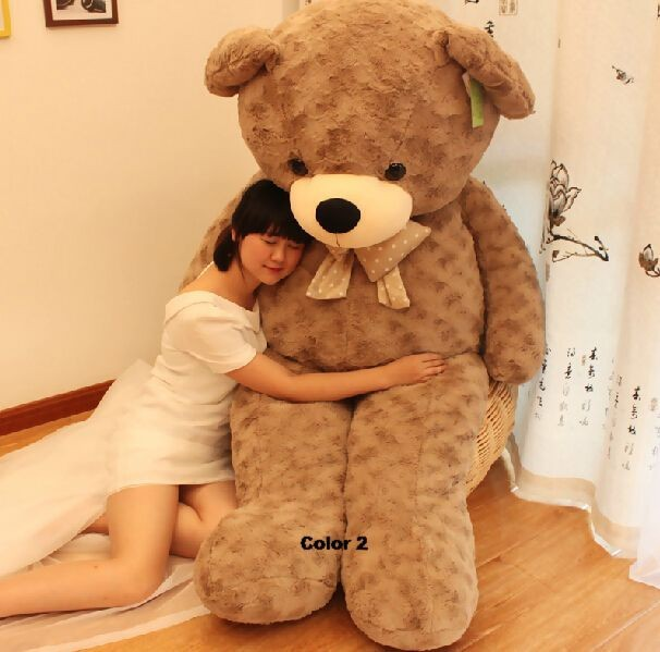 Fancytrader 67\'\' 170cm JUMBO Huge Giant Plush Stuffed Teddy Bear, 3 Colors Available, Free Shipping FT90345 (10)