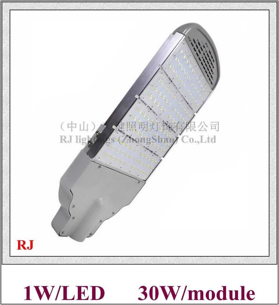 module style LED street light lamp LED road light IP65 AC85V-265V input high power 1W LED 30led/30W/module 1-7(modules)
