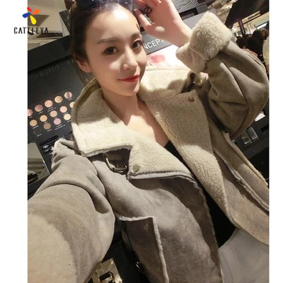 Womens Winter Autumn Coats Fur Parka New Slim Outwear Short Smart Wadded Jacket Thick Hooded Cotton Fleece Warm Cotton Parkas womens coats and jackets thick fur collar winter jacket women hooded cotton wadded jacket parka female outwear maxi coats c3708