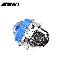 Sanvi bi светодиодный проектор Объектив 35 Вт 5500 К высокий низкий пучок Auto Lighting автомобиль-Стайлинг светодиодные фонари для автомобили Фары для автомобиля