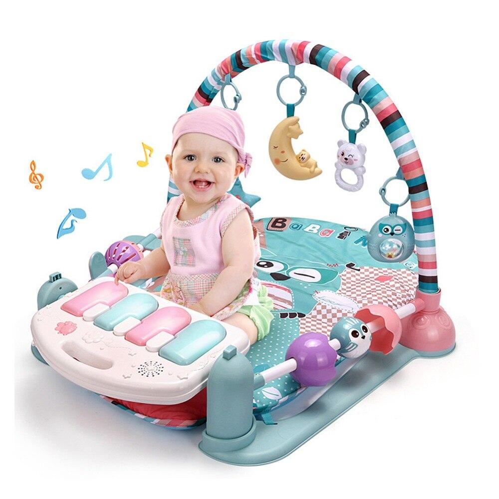 Bébé jouets jouer tapis éducatif ramper tapis jouer Gym bande dessinée enfants couverture - 3
