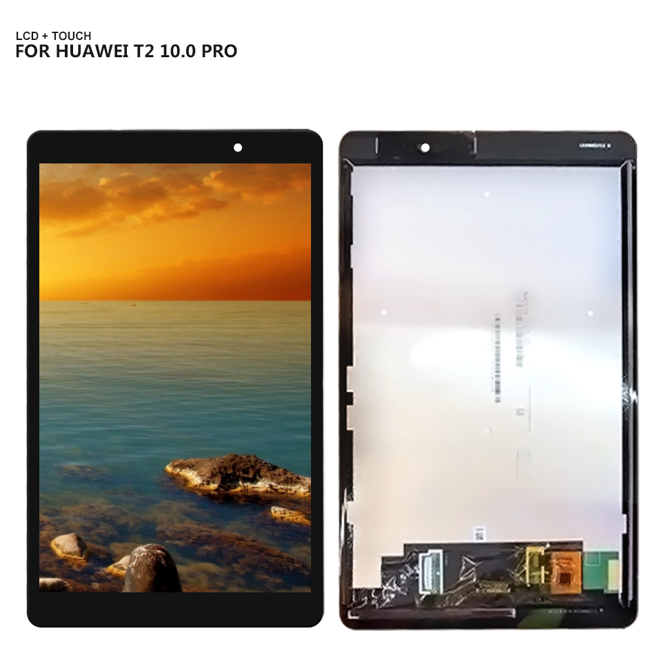For Huawei MediaPad T2 10.0 Pro 10.1 inch FDR-A01L FDR-A01W Panel LCD Combo Touch Screen Digitizer Glass Display Assembly Parts image