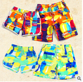 New 2015 Brand Fashion Fifth-Pants Quick Dry Summer Men's casual  Board Shorts Women Beach  casual  Bermuda Shorts #E