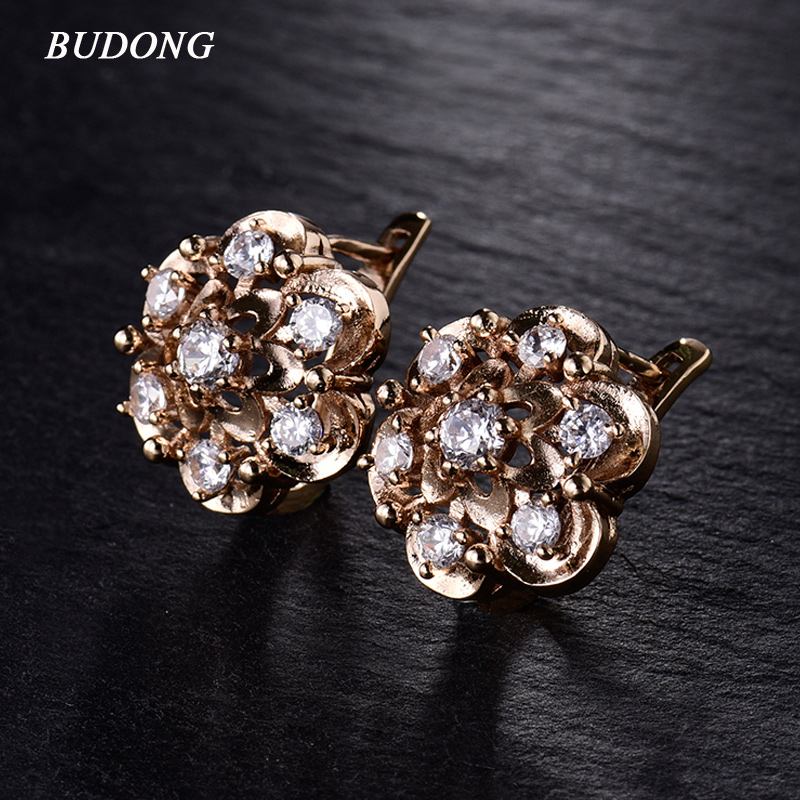 4 Farben Oval Cut Edelstein Gepflastert Weiß Cz Um Kreise Huggies Hoop Ohrringe Für Frauen Gold Farbe Luxus Schmuck Aros Brincos Ohrringe Creolen