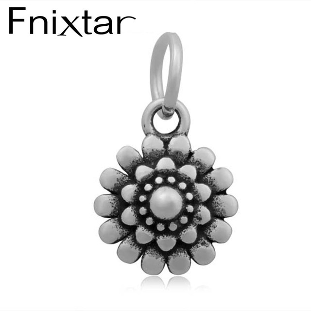 20pcslot 11x20mm flower small pendant charms stainless steel 20pcslot 11x20mm flower small pendant charms stainless steel wholesale china yiwu jewelry factory aat013 aloadofball Choice Image