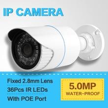 1.8″ SONY IMX178 Network Bullet Outdoor IP Camera POE 5MP Waterproof IP66,Full HD 5MP (2592*1944) 25/30fps,IR Range 20m