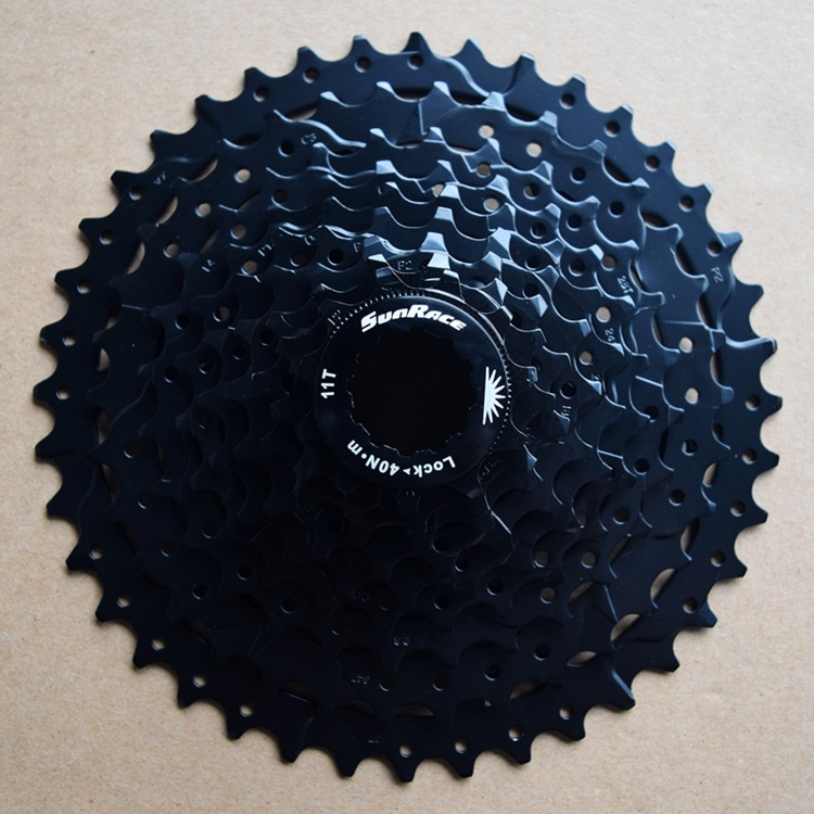 SunRace 9 speed csm990 11-40 T cassette tool free wheel of mountain bike mtb bike parts of the steering wheel bicycle 11-40T image