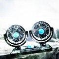 12V 24V 5V автомобильный мини-вентилятор с вращающейся на 360 градусов двойной головкой  портативный автомобильный зажим для сиденья  вентилятор...