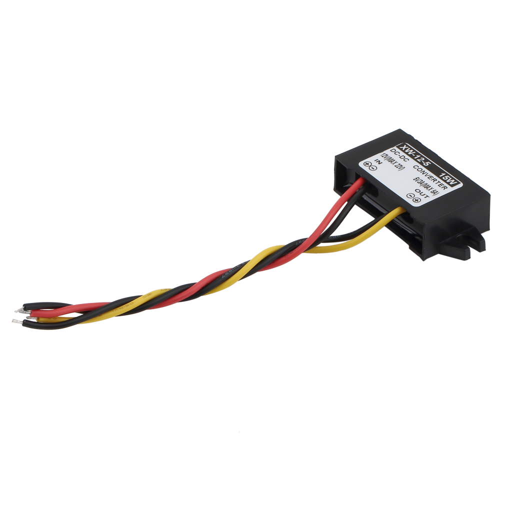1 шт. автомобильное зарядное устройство преобразователь