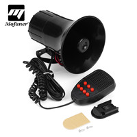 Mofaner 7 Sound 12V 50W 4A Loud Car Motorcycle Boat Warning Alarm Hron For Police For