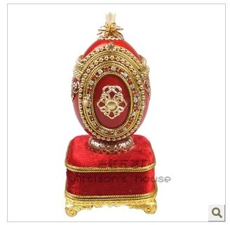 European royal wedding gift egg Musical Jewelry Box of high-grade Valentine's Day Christmas the Qixi Festival girlfriend preferr