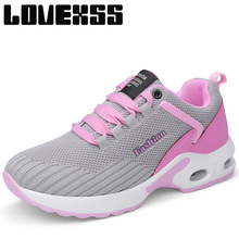 LOVEXSS Fall2017 High Elastic Running Shoes For Women Outdoor Jogging Sport Run Athletic Woman Brand Breathable Women's Sneakers