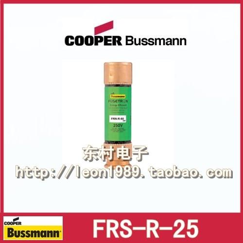 цена на US BUSSMANN Fuse Fuse FUSETRON FRS-R-20 FRS-R-25 25A 600V