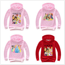 Cartoon Harajuku VOGUE Print Hooded Children Sweatshirt Baby Boys Clothes Fashion T Shirt Pullover Girls Cotton Coat Tracksuits(China)