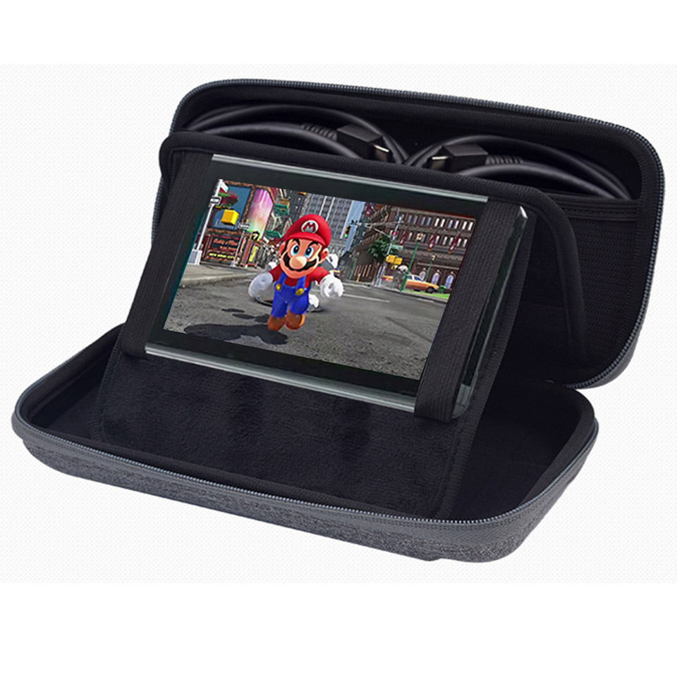 Image 5 - Nintend Switch NS Console Carrying Storage Bag Hard for Nintend Switch Console Accessories Protective Portable Travel Bag Pouch-in Bags from Consumer Electronics