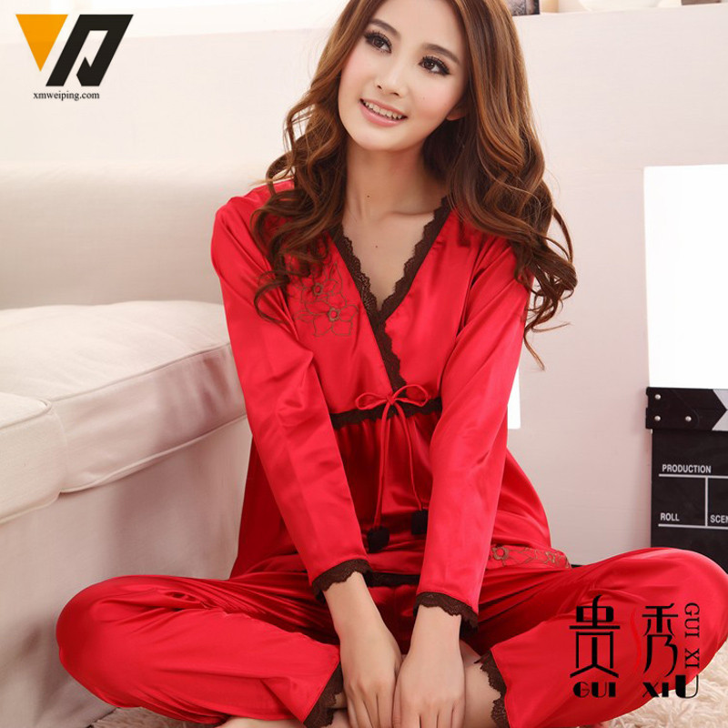 Online Get Cheap Satin Silk Pajamas -Aliexpress.com | Alibaba Group