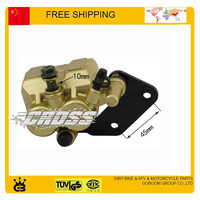Disc Brake Caliper Front Disc Rear Disc Brake Pads 50cc 70cc DIRT BIKE PIT BIKE Free