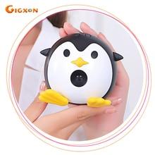 Gigxon-Q1 pingüino mini proyector DLP 640*480 1000:1 1080 P Proyector de Cine En Casa Portátil