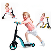 Conversion Children Three Wheel Scooter Ride A Bike Outdoor Tricycle Baby 3 In 1 Balance Bike Ride On Toys yoya stroller