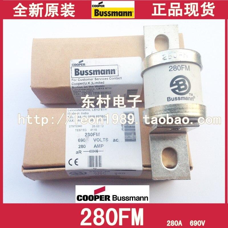 US imports BUSSMANN fuse BS88: 4 fuses 280FM 280A 690V 280AMP 400lmmt 500lmmt 630lmmt bs88 4 240v rndz