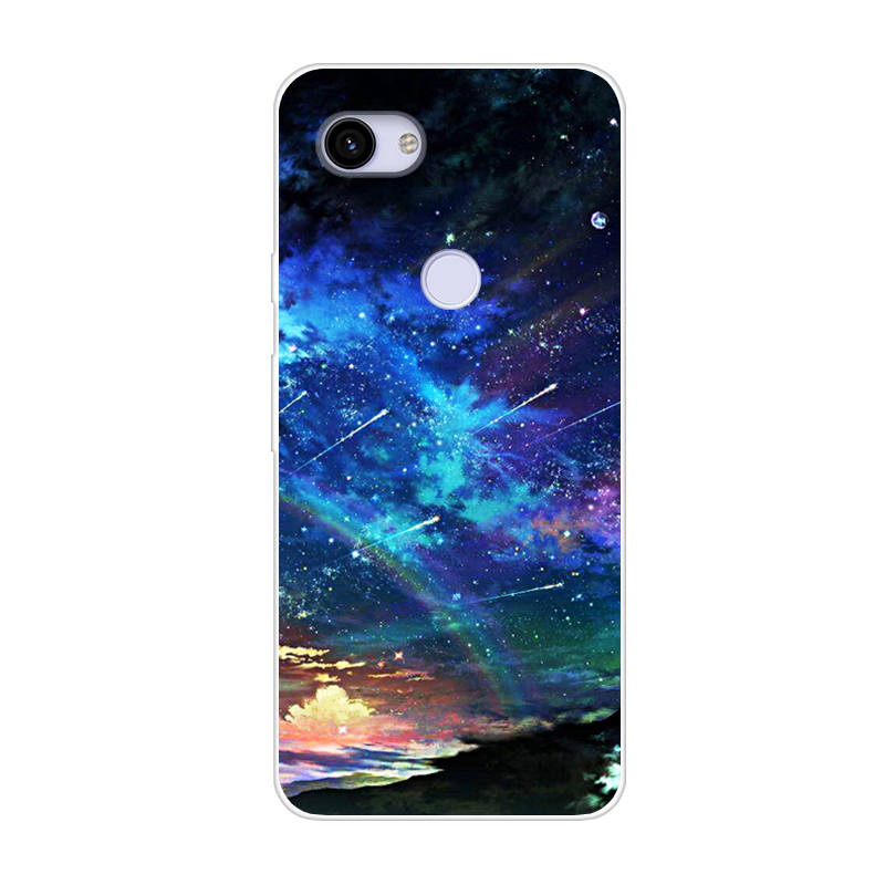 For Google Pixel 3A Case Silicone Back Cover Phone Case For Google Pixel 3A XL 3 A Pixel3a XL 3Axl Cartoon TPU Case