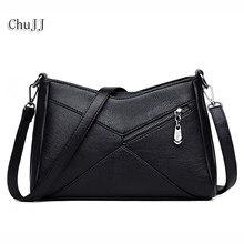a466480a3ad65 Chu JJ gorąca sprzedaż kobiet prawdziwej skóry torebki damskie Patchwork torby  na ramię CrossBody torebki damskie torba na drobi.