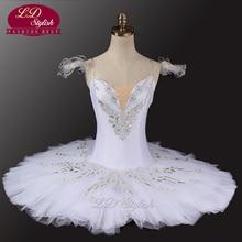 Sleeping Beauty White Professional Ballet Tutu Classical Tutus Swan Lake Stage Costumes LD0033