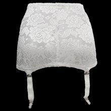 حجم كبير النساء الرباط حزام الإناث عالية الخصر الأبيض الكلاسيكية الرباط حزام لتخزين الأزهار الدانتيل دلاء معدنية مثير lingail es503