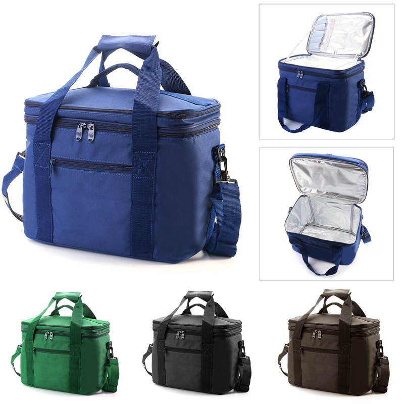 Top Quality Outdoor Bags Large capacity Portable Insulated lunch Bag Thermal Food Picnic Bag for Women kids Men Cooler bag aaa quality thermal insulated 3d print neoprene lunch bag for women kids lunch bags with zipper cooler insulation lunch box
