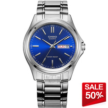 Casio watch Men's waterproof watch pointer fashion business quartz men's watch MTP-1239D-2A MTP-1239D-7A