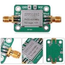 LNA 50-4000 МГц SPF5189 RF низкий уровень шума усилитель сигнала приемник для FM ВЧ ОВЧ/UHF Ham радио модуль доска Best продвижение