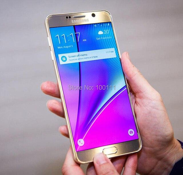 e060d039714f0 100% Original Samsung Galaxy Note 5 N920A teléfono móvil 4 GB RAM 16MP 5