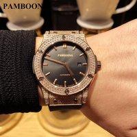 Mens Watches Top Brand Luxury GOOD AUTO Watch Silicone Strap Clock Men Waterproof Sports Watches relogio masculino