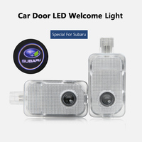 Special For Subaru 2pcs Set Led Car Door Logo Projector Welcome Laser Lights For Forester Legacy