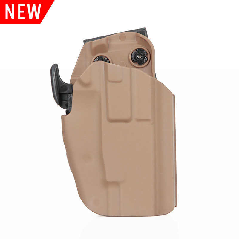 PPT Tactical Pistol Holster Nero Tan Colore Verde Holster Per Glock G17 G20 G21 G22 G37 gs7-0072
