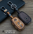 Genuine Leather CAR KEY CASE For CHEVY 15CRUZE CRUZE MALIBU TRAX Use Automobile Special-purpose CAR KEY HOLDER