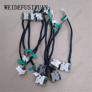 X10 шт. кабельный жгут постоянного тока для HP 14-AK 15-BN 15-AC 15-AY 15-AF 15-AE 15-BA 15-AS 17-X 799736 разъем зарядного порта