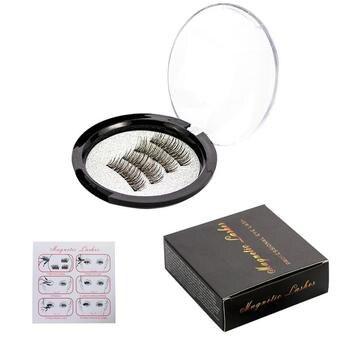 Мода 3 магнит накладные Магнитная ресницы макияж инструменты Красота ресницы расширение ресницы дропшиппинг