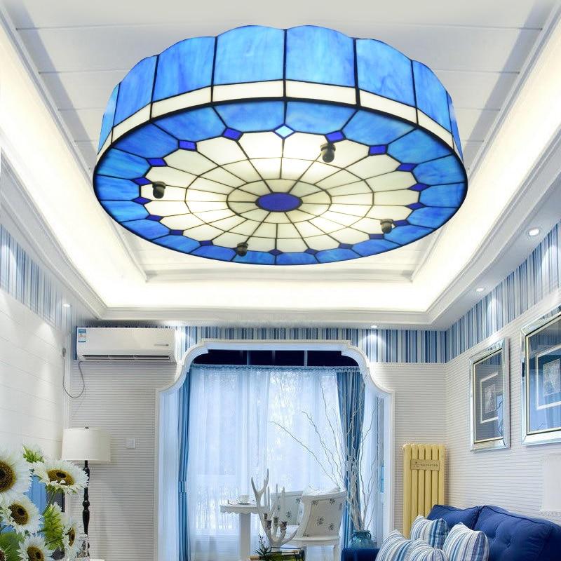 Tiffany blau deckenleuchte kinderzimmer schlafzimmer esszimmer ...