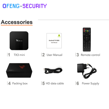 TX3 mini Smart TV BOX 1GB+8GB Android 7.1 Quad Core Amlogic S905W Support H.265 2.4GHz WiFi Media Player 4K Set top box