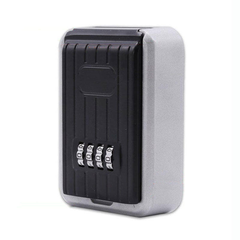 Key Safe Box Home Factory Office Outdoor Key Storage Box Wall-mounted Password Combination Security Keys Hold Lock Safes