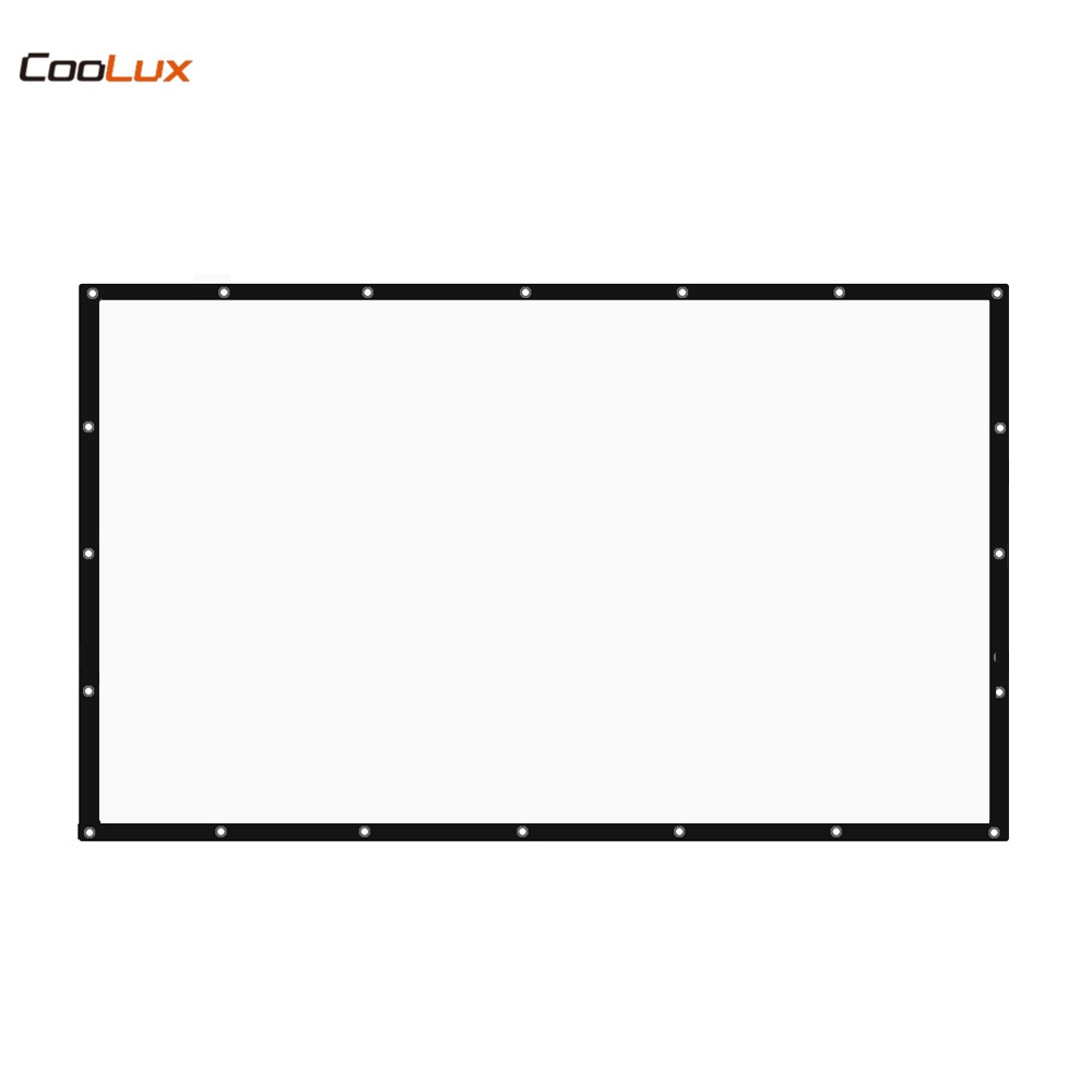 120 inch Tabletop Projector Screen 16:9 Portable Projection Screen support for customfree shipping 120 inch projector mount screen 16 9 gf grey