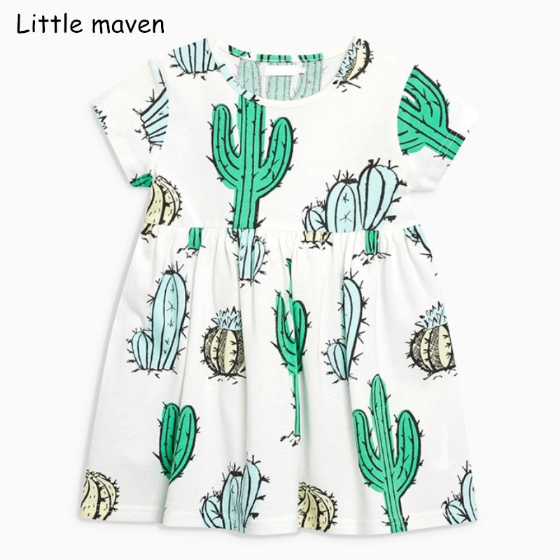 Little maven 2018 new summer baby girls clothes kids Cotton cactus print casual brand dress S0356 rear rack 48v 1000w electric bike battery 48v 20ah electric bicycle battery 48v 20ah lithium ion battery power tail lights