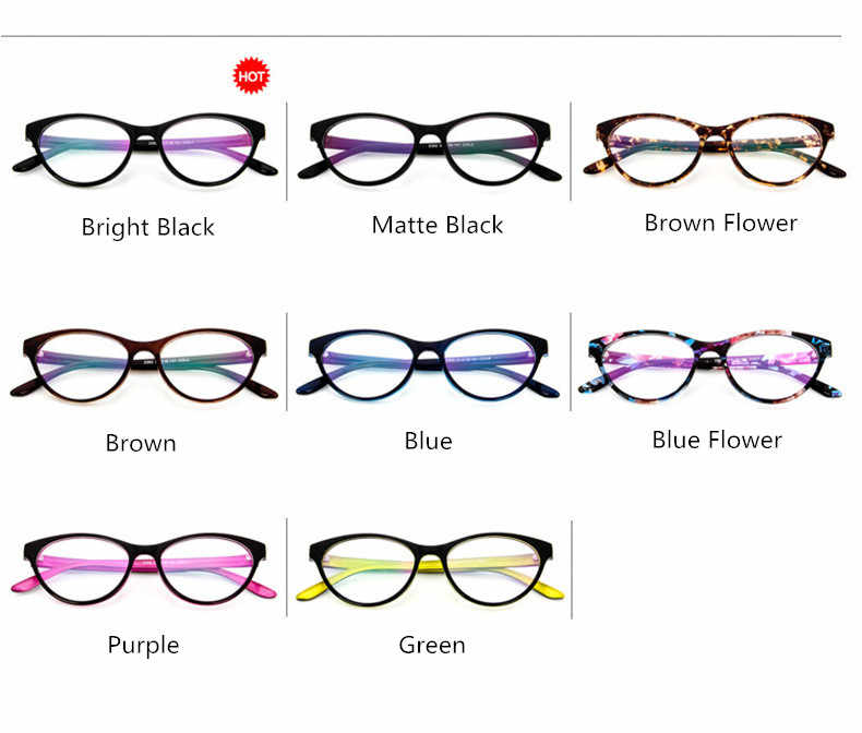 ae1188b55f0 ... BOYEDA Cat s Eye Optical Glasses Frame Brand Fashion Women Myopia Eye  Glasses Frame Vintage Retro Spectacle