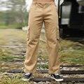 2016 plus size Loose jogger pants casual train pants C001 fashion trend multi-pocket trousers overalls waist loose Cargo Pants