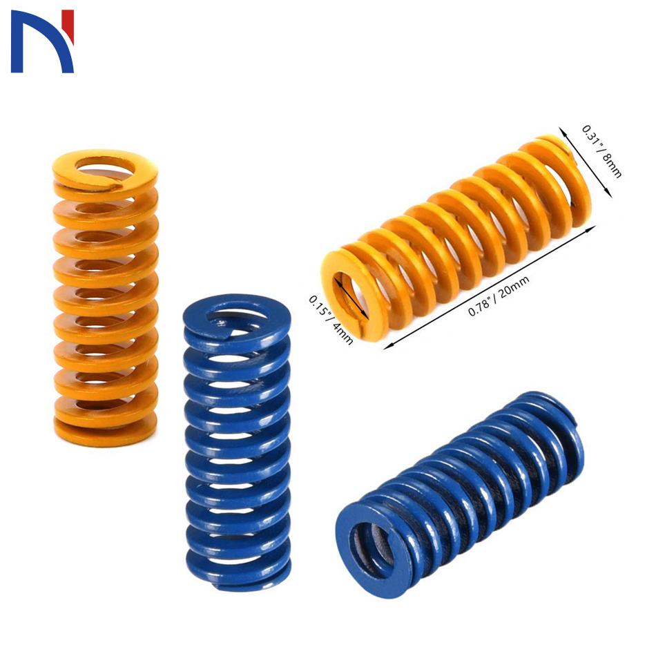 5PCS/lots Pressure Springs 3D Printer Part Imported Length 23mm OD 8mm ID 4mm for CR-10 Ender-3 Hotbed(China)