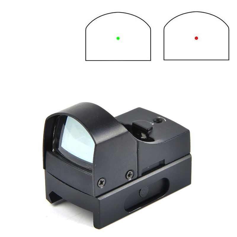 D III Tầm Nhìn Chấm Bi Đỏ Súng Trường Phạm Vi Micro Chấm Phản Xạ Toàn Phương Chấm Ngắm Quang Học Săn Bắn Ống Nhòm Airsoft Súng Trường Mini Dot